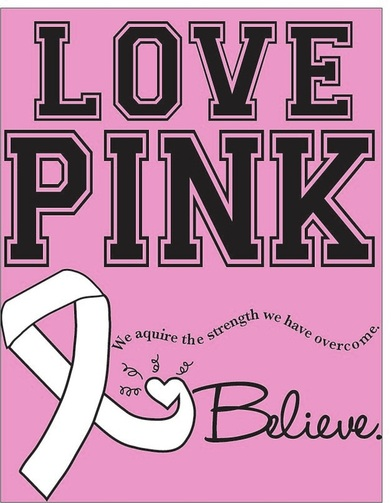 Breast Cancer Poster Alex Converse Graphic Design